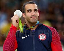 Darnell Leyva USA 2016 Rio Olympics Silver Medal Gymnastcis 8x10 Photo #2