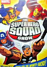 SUPER HERO SQUAD SHOW VOL 3-4 NEW! 2 DVD ,Marvel,Iron Man, Hulk,Wolverine,Thor