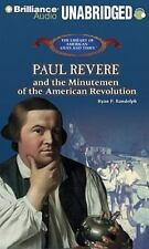 PAUL REVERE AND THE MINUTEMEN OF THE AMERICAN REVOLUTION unabridged audio CD
