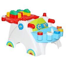 Spieltisch mit Bausteinen Spielcenter Lerntisch Baby Stapelspiel Formenspiel