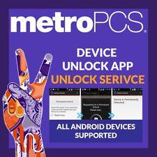 METROPCS METRO PCS DEVICE UNLOCK APP CODE SERVICE Samsung Galaxy J7