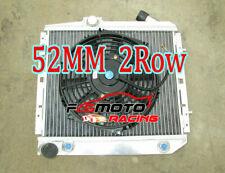 Radiator de aluminio + FAN para Renault Super 5 GT R5 R9/11 1.4 Turbo AT 50mm
