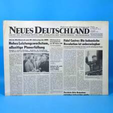 DDR Neues Deutschland 03.01.1989 Januar Zum Geburtstag Hochzeitstag 29. 30. 31.