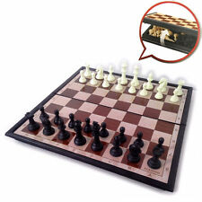 Magnetic Travel Folding Chess Set Portable Kids Family Educational Board Game