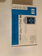 Hp iPaq Rx1950 Series Pocket Pc with Box & Accessories -no Power Cord