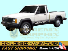 1987 1988 Jeep Comanche Chief MJ Truck Decals Graphic Stripes Kit