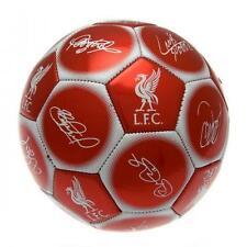 Liverpool FC Club Ufficiale Squadra Calcio firma-Taglia 5