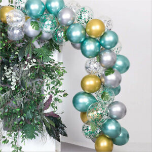 Green Garland Arch Balloons Set Birthday Party Supplies Decoration