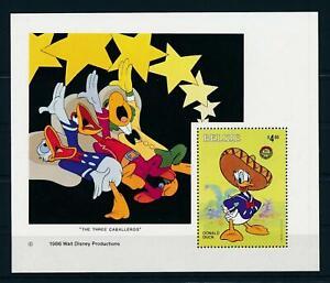 [104855] Belize 1986 Disney art Donald Duck Souvenir Sheet MNH