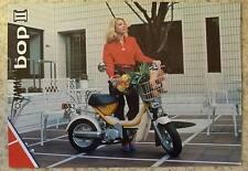 YAMAHA BOP II 49cc MOPED Sales Brochure c1981 #LIT-3MC-0107558-81E