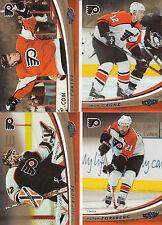 06/07 UD Power Play Philadelphia Flyers Team Set Carter Forsberg Gagne Esche