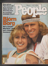 People Magazine Bjorn Borg Larry Flynt March 7 1977  Free S/H