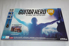GUITAR HERO FOR iPHONE,iPAD ,AND iPOD TOUCH WITH ONE GUITAR CONTROLLER CONTROLLE