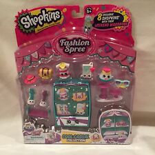 Shopkins Fashion Spree Cool Casual Collection~ 8 Shopkins with Weekend Wardrobe