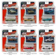 GREENLIGHT 13150 MUSCLE CAR SERIES 15, SET OF 6 DIECAST CARS IN 1:64 NEW