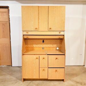 Vintage Sewing Storage Cabinet