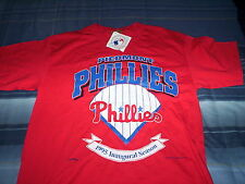 MINOR LEAGUE BASEBALL-PIEDMONT PHILLIES-NEW-TAGS-OLD STOCK-1995-RED-LARGE