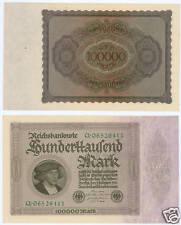 100.000 Mark 1923  kassenfrisch  Ro.82a
