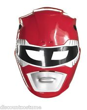 MIGHTY MORPHIN POWER RANGERS RED RANGER MASK ADULT HALLOWEEN COSTUME ACCESSORY