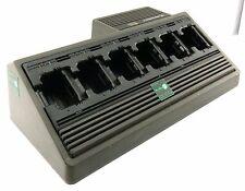 MOTOROLA NTN1177 RAPID SIX BAY DESKTOP CHARGER FOR GP900 MTS2000 MT2100 MT6000E