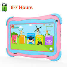 "Kids 7"" Tablet PC 16GB Android 8.1 Wifi Quad Core Educational Apps Best Gift"
