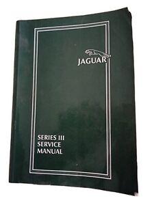 Jaguar XJ6 series 3 Factory Workshop Manual. Very rare.