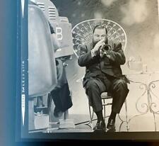 *RARE* 1960's Historic Photo Negative of Musician Al Hirt Trumpet Player #B