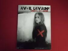 Avril Lavigne-Under My Skin. Carnet de chansons partition piano vocal guitar PVG