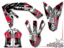 APRILIA SXV RXV MXV, 450 550, 06-15, VDB Supermoto FULL decals GRAPHIC KIT DECORO