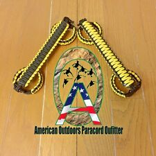 Black and Yellow Pre-2003 Paracord Jeep Grab Handles TJ LJ (Made in USA)
