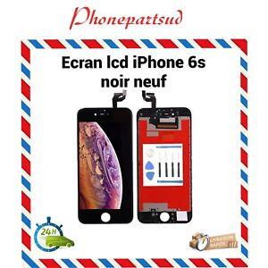 ECRAN LCD RETINA ORIGINAL + VITRE TACTILE SUR CHASSIS POUR IPHONE 6S Noir