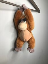 "Walt Disney Company The Jungle Book King Louie Beanie Soft Toy Teddy 10"" Plush"