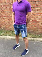 DSQUARED 2 Estate Slim Fit Jeans Pantaloni Corti Taglia W (29 - 30) 46 Italia.