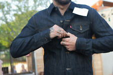 Levi's Commuter Trucker Men's Denim Jacket. Indigo Best, Large Men's