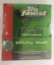 2003 Topps Finest Football Hobby Box Factory Sealed