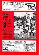 II BL 86/87 SC Freiburg - 1. FC Saarbrücken, 04.10.1986