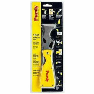 Purdy 10 in 1 Painters FOLDING Multi-tool, Stainless Steel, Filling Scraper FOLD