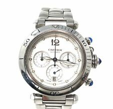 Cartier Pasha Chronograph 38mm Stainless Steel Automatic Movement