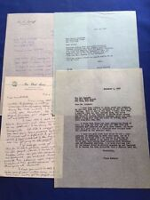 LETTER FROM WRITER ALICE CHILDRESS TO ATTORNEY LEO LASKOFF WITH SMALL ARCHIVE