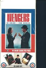The Avengers TV Show trading Cards Color 2nd Series Emma Peel + 3 promo cards