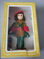 "Vintage Effanbee ROBIN HOOD Doll 11"" w/ Box and Tags"