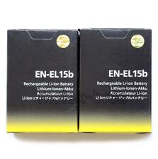 2x Original Nikon EN-EL15B Battery for D850 D7500 D750 D810 Z6, Z7 Mirrorless