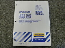 New Holland T5040 T5050 T5060 T5070 Tractor Service Repair Manual 23-25-27-31