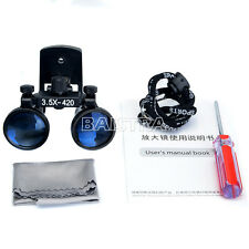 NEW 3.5X Clip Type Dental Surgical Medical Loupes Dentistry Magnifier Loupes