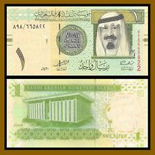 Saudi Arabia 1 Riyal, 2009 P-31b King Abdullah Unc