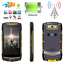 "5"" Android 4G FDD-LTE Discovery V1M Rugged Mobile Phone Waterproof Smartphone V8"