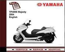 Yamaha YP400S YP400 S Majesty 2004 Workshop Service Repair Manual