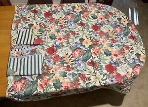 Vintage Sheridan Doona Cover 204cm x 178cm Flat Sheet & Pillow Case