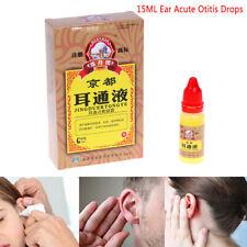 1Pcs Ear Acute Otitis Drops Chinese Herbal Medicine For Ear Tinnitus Deafness&p