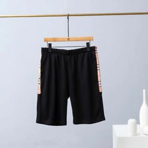 Burberry side check shorts